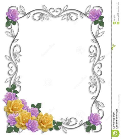 wedding decorative border decorative borders for wedding invitations