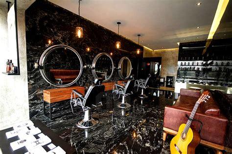 design interior barbershop jakob gomez revives classic barbershop aesthetic in musk