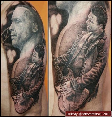 richard tattoo 17 best images about rammstein tattoos on
