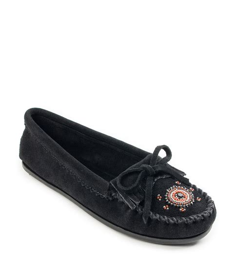 Circle Moccasins minnetonka me to we beaded suede moccasins dillards