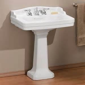 Bathroom Vanities Online Store Cheviot 553w 24 4 Essex Pedestal Sink White Lowe S Canada