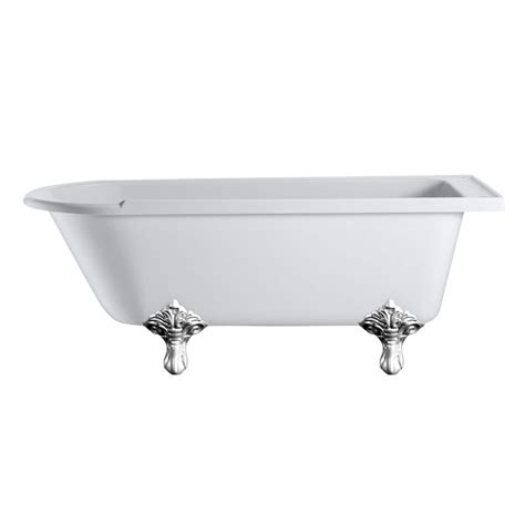 bathtub with legs hton roll top 1700 shower bath trad legs buy online