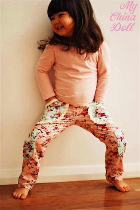 my pattern emporium cargo pants sewing pattern designed especially for girls