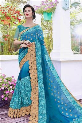 Wedding Card Wholesale Market In Mumbai by Indian Satin Georgette Embroidery Border Work Wholesale