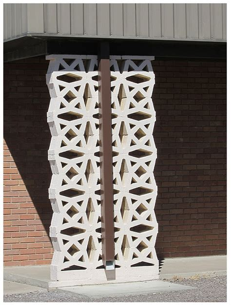 Decorative Concrete Block by Modern Mid Century Decorative Concrete Blocks Modern