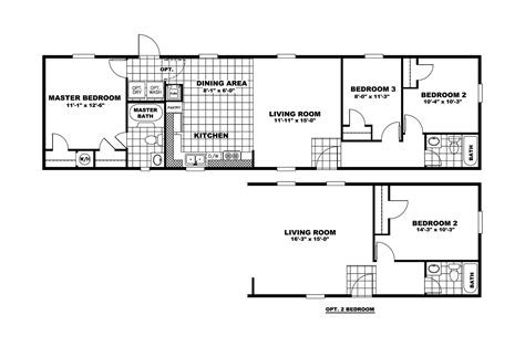 14x60 mobile home floor plans 16 x60 mobile home floor plans http www