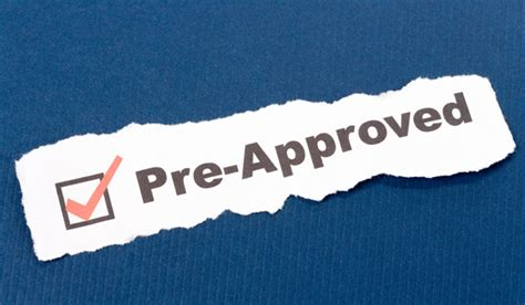 get pre approved on a mortgage
