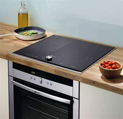 really funky modern kitchen induction hob cooker and new neff flex induction hob now on display at rfk news