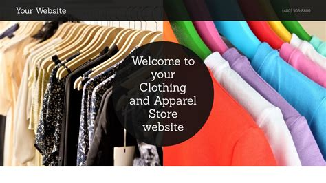 Clothing And Apparel Store Website Templates Godaddy Godaddy Store Templates