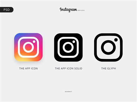 instagram color instagram logo and color pallete free psd