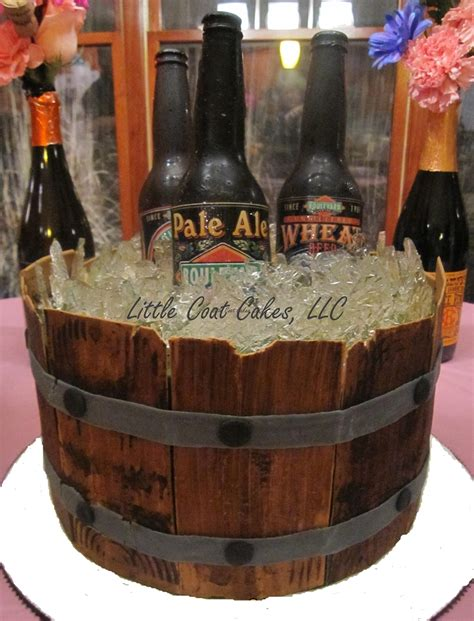 beer barrel cake yet another beer barrel cake cakecentral com