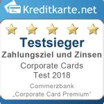 kreditkarte x ite card 0 zins corporate card test 2018 15 corporate cards im test