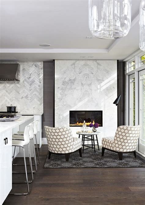 Kitchen With Fireplace Designs Trends Give Your Kitchen A Sizzling Makeover With A Fireplace