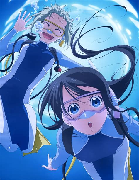 anime series 8 anime series that take place underwater by the sea
