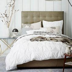 Pintuck Headboard by 1000 Images About Bedroom Decorating Ideas On