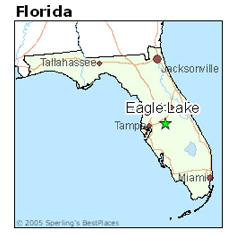 best places to live in eagle lake florida