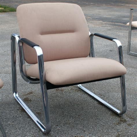 Steelcase Upholstery by 2 Mid Century Steelcase Lounge Chairs Ebay