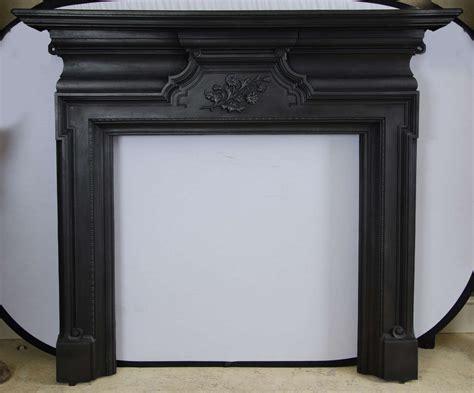 antique edwardian cast iron fireplace surround at 1stdibs