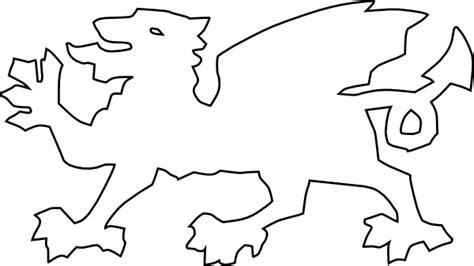 welsh dragon clip art at clker com vector clip art