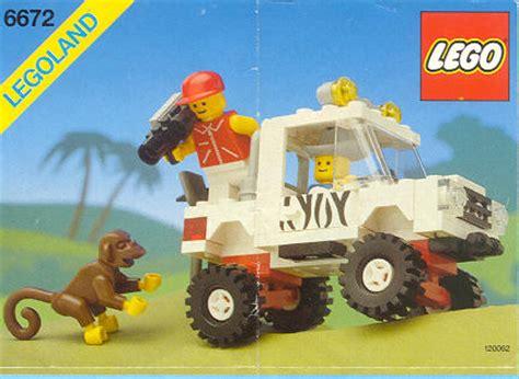 Expedition 6673 Brown bricker part lego 2550c01 monkey