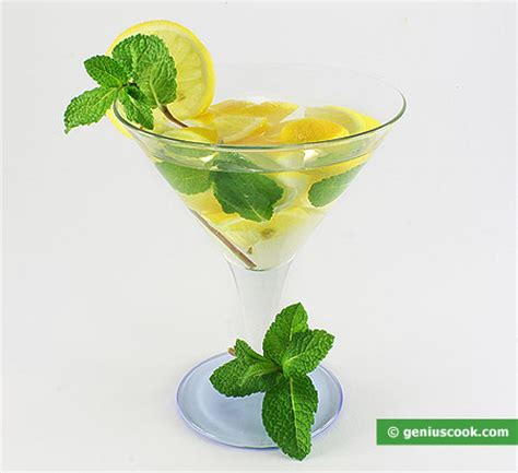 martini mint the martini with mint and lemon cocktail recipe beverage