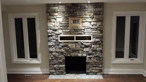 Stucco Patio Cover Stone Veneer Fireplace To Decorate Your Living Room