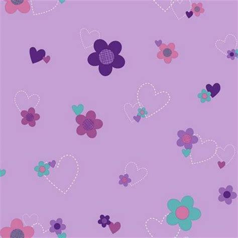 Purple Flower Wall Murals ds7680 doc mcstuffins floral totalwallcovering com