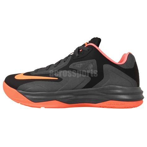king basketball shoes nike lebron st iii 3 black orange 2014 king mens
