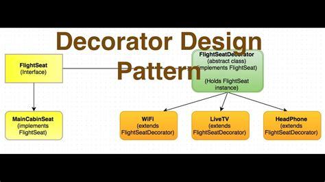 design pattern site du zero java decorator design pattern in java ajit singh youtube