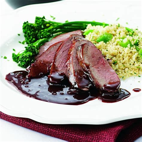 dinner entree recipes pomegranate duck recipe eatingwell