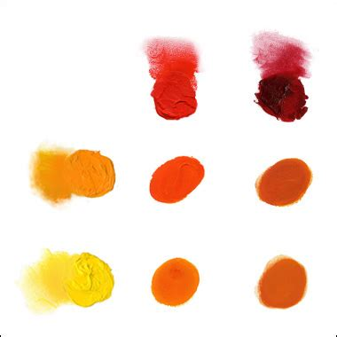 how to make color orange how to make better paintings tips techniques for
