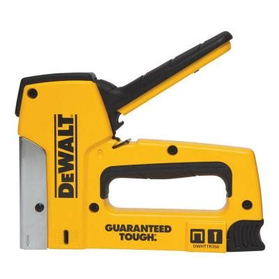 dewalt 18 heavy duty staple nail gun dwhttr350 the