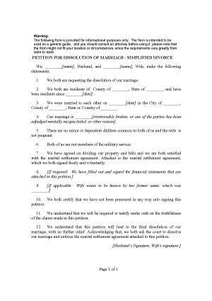 Printable Sle Divorce Template Form Laywers Template Forms Online Pinterest Template Divorce Decree Document Template