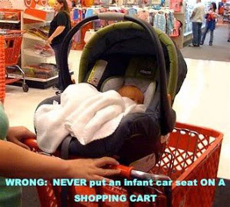 baby seat for shopping cart 6 top reasons car seat on the shopping cart is a bad