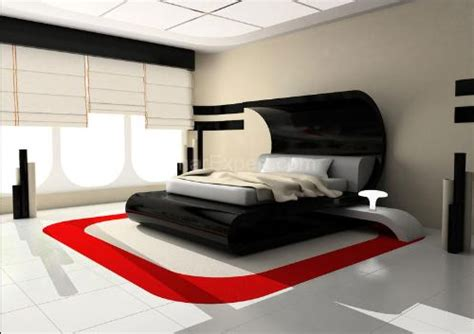 red black and white bedroom ideas dadka modern home decor and space saving furniture for