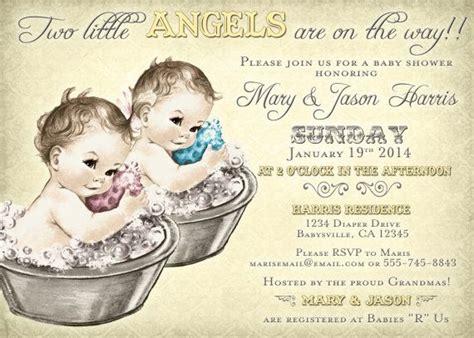 diy vintage baby shower invitations coed baby shower invitation for vintage diy
