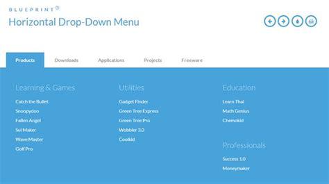 Space Saving Designs For 25 free html5 css3 jquery dropdown menus