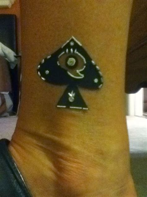 queen of spades tattoo meaning of spades spade and the on