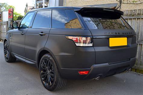 matte blue range rover range rover sport matte black wrap reforma uk