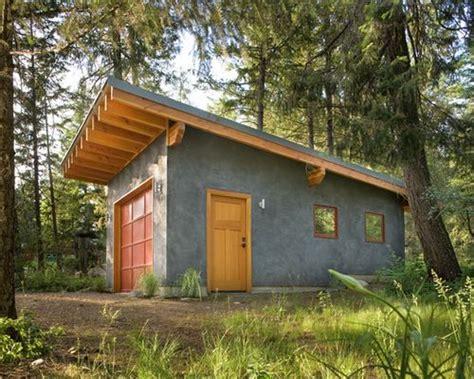 garages  sloped roofs shed roof design garage plans