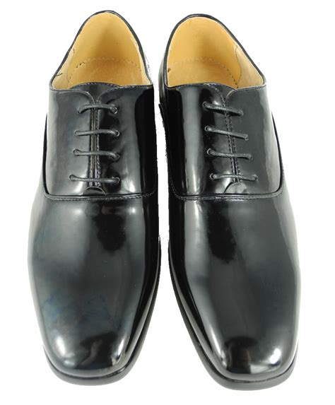 suit shoes mens formal dinner suit dress wedding shoes black patent