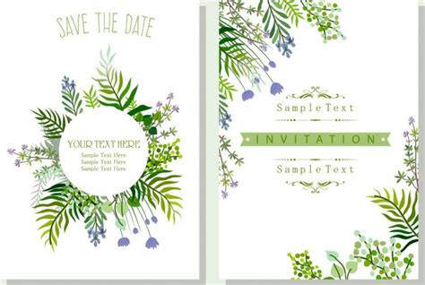 Free Business Card Templates Nature by Corel Draw Invitation Card Template Free Vector