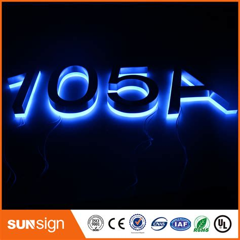 solar led house number led house numbers led solar light outdoor l garden