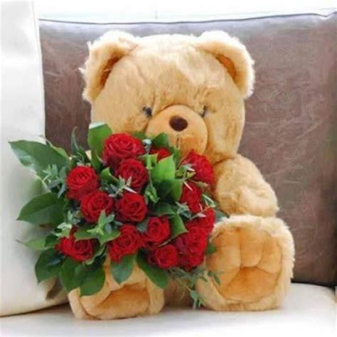 imagenes de rosas con osos osos para regalo de amor imagui