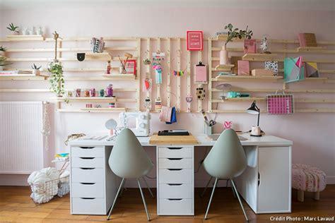 comment ranger bureau de chambre rangement mural comment bien organiser bureau