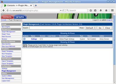 tutorial cacti ubuntu 12 04 ubuntu 16 04 lts cacti email notification settings