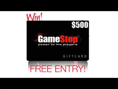 Gamestop Gift Card Not Working - gamestop gift card enter survey to win 500 gamestop gift cards or visa gift card
