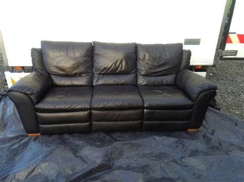 leather recliner sofas for sale delivery 3 seater recliner black leather sofa for sale for