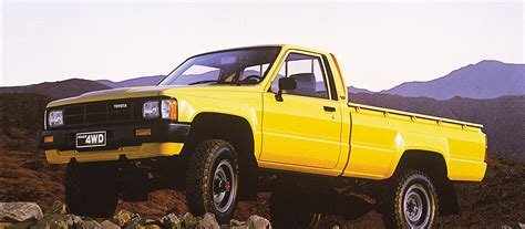 yellow toyota truck hilux overview features toyota uk