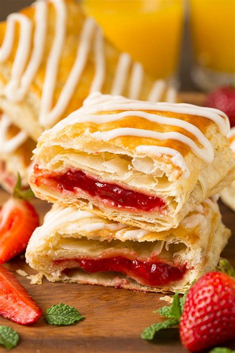 Toaster Recipes Homemade Toaster Strudels Cooking Classy